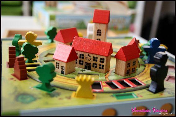 Catan junior creciendo con montessori - Juegos de recoger casas ...