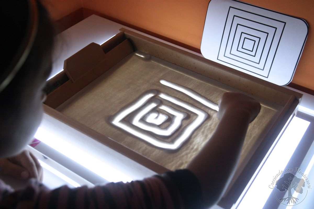 Grafomotricidad en la mesa de luz tarjetas imprimibles for Mesa de dibujo con luz