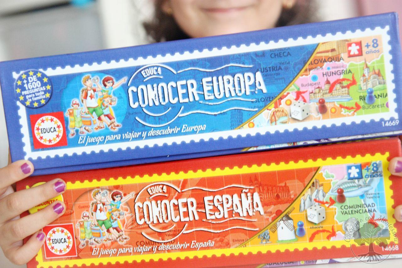 Juegos de mesa conocer espa a y conocer europa tarjetas for Cazafantasmas juego de mesa