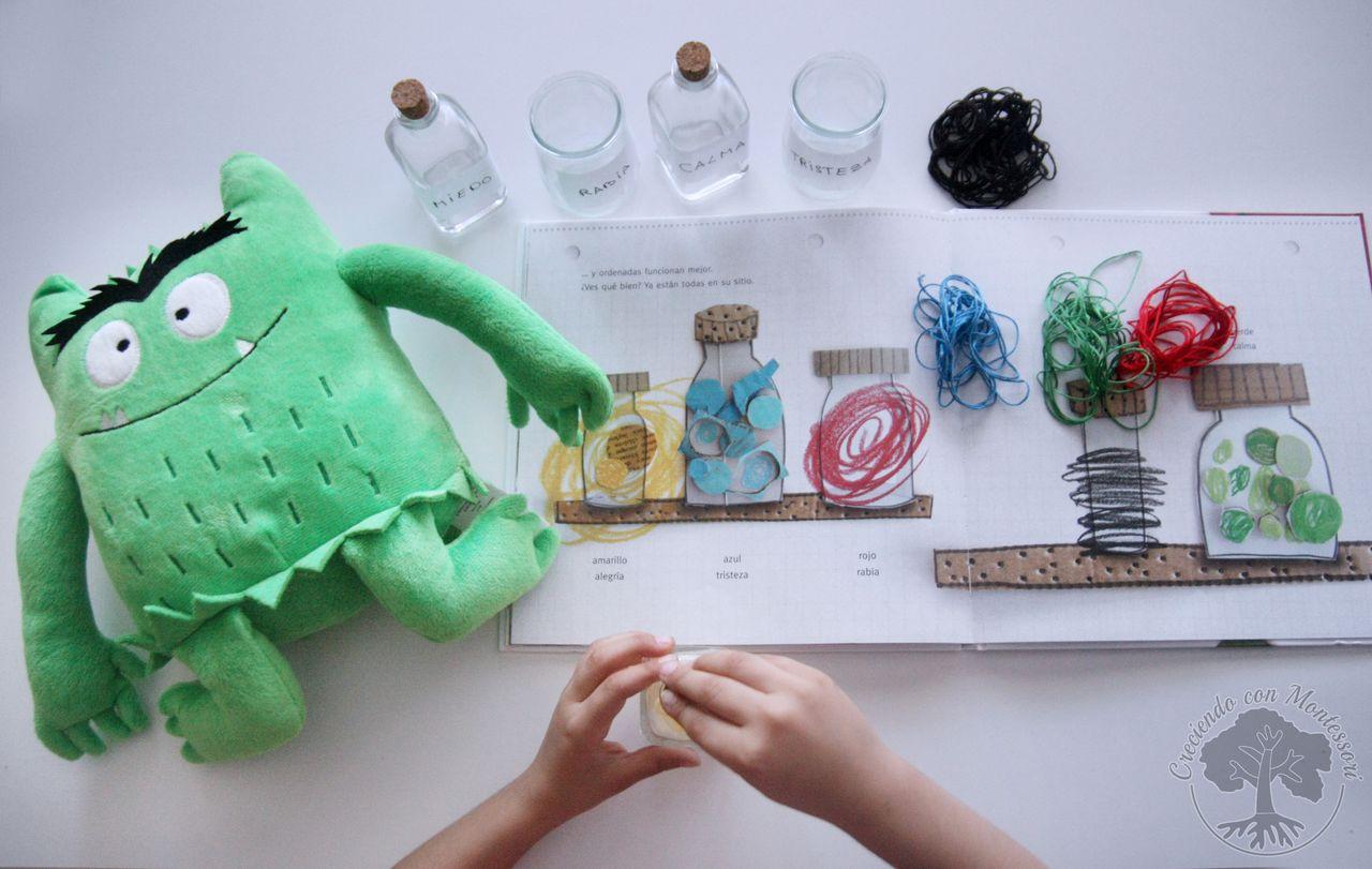 El monstruo de colores, Libro-reseña + Actividades – Creciendo Con ...