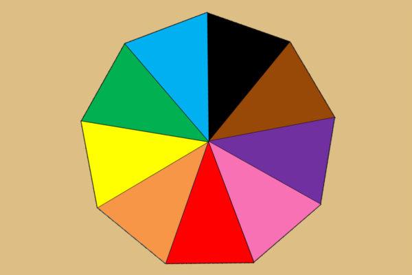 Eneágono para la Caja de Color número 3