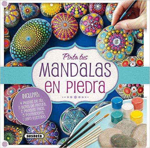 Diy Pintar Mandalas En Piedras Para Ninos Creciendo Con Montessori - Pinturas-de-mandalas