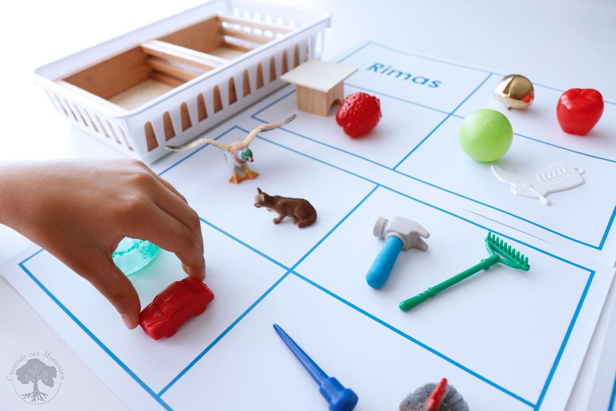 Las Rimas En El Metodo Montessori Cuentos Rimados Imprimible