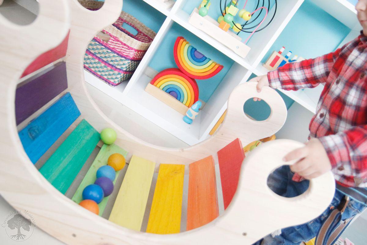 Balancin Arco Iris Para Criarte Sorteo Creciendo Con Montessori