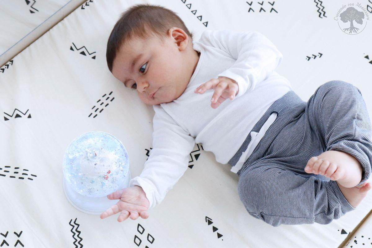 Ambiente Montessori bebé en casa 1: Espejo con barra + Colchón de ...