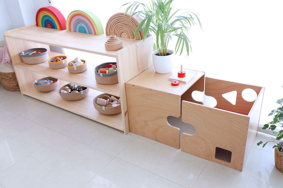 Cubo Creciendo Silla – Con Montessori UqVGSMpz